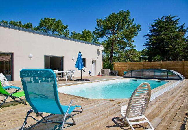 à Saint-Jean-de-Monts - Une maison qui associe tous les atouts… piscine, plage, forêt !