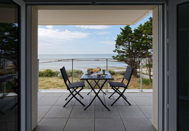 à La Guérinière - Superbe appartement neuf face plage sur l'île de Noirmoutier