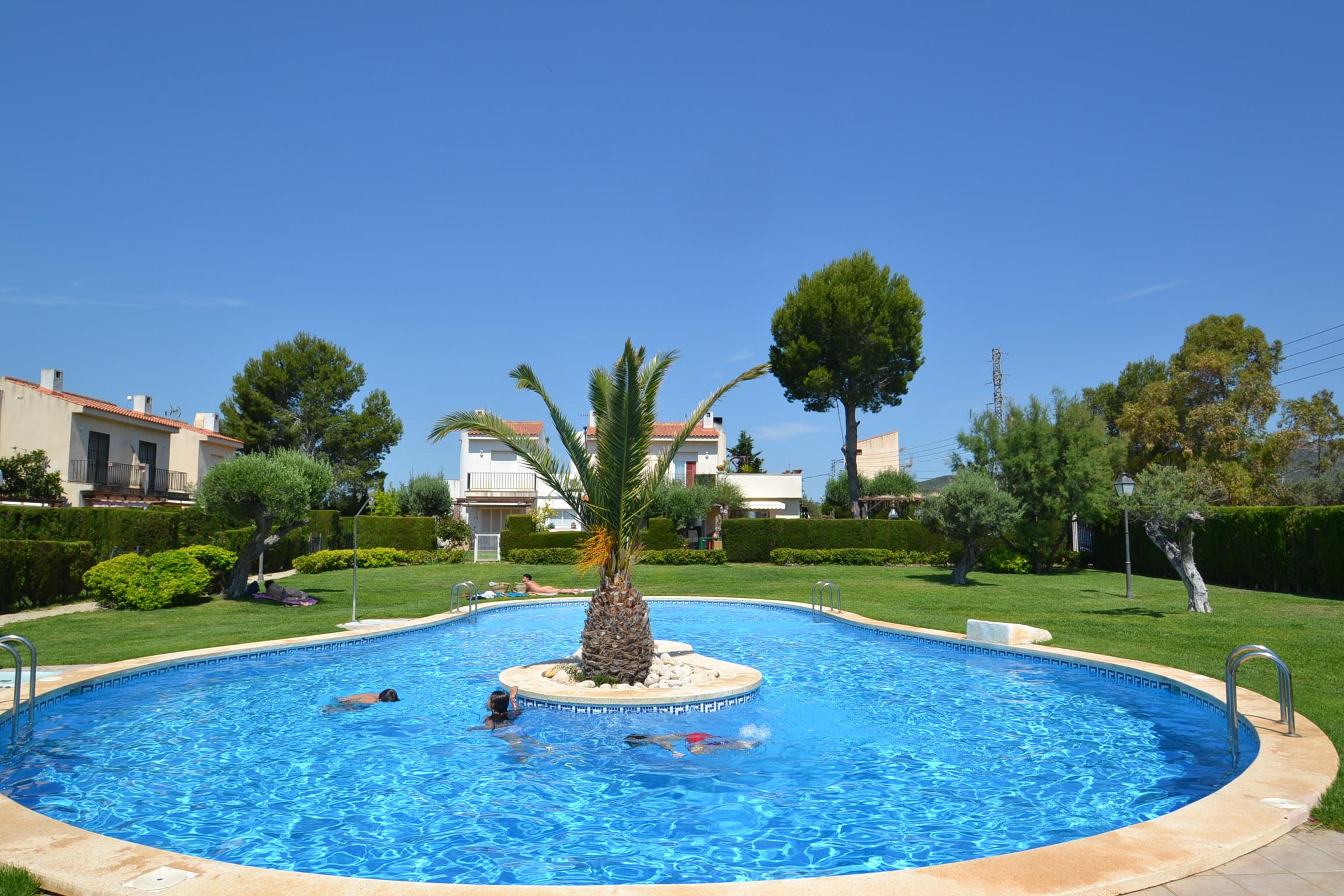 villa à Ametlla de Mar - Villa 3 Calas 4:Jardin privé-Proche plages-Piscine-Linge,satellite gratuit