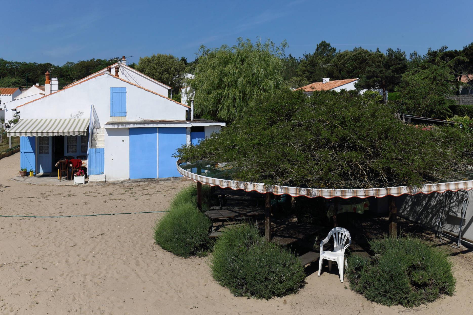 à Barbâtre - Logement Grand Air dans une grande maison de vacances à Noirmoutier